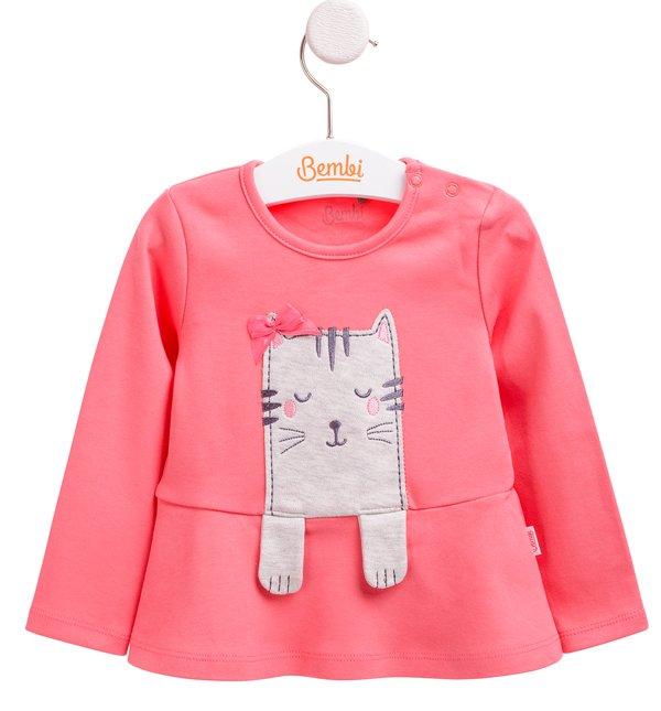 3cf59230531c2a Футболка з довгим рукавом Лапки - купити дитячий одяг - одяг для ...