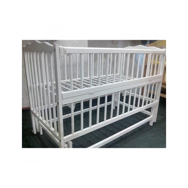кроватка для новорожденного с маятником белая детские деревянные кроватки для новорожденных
