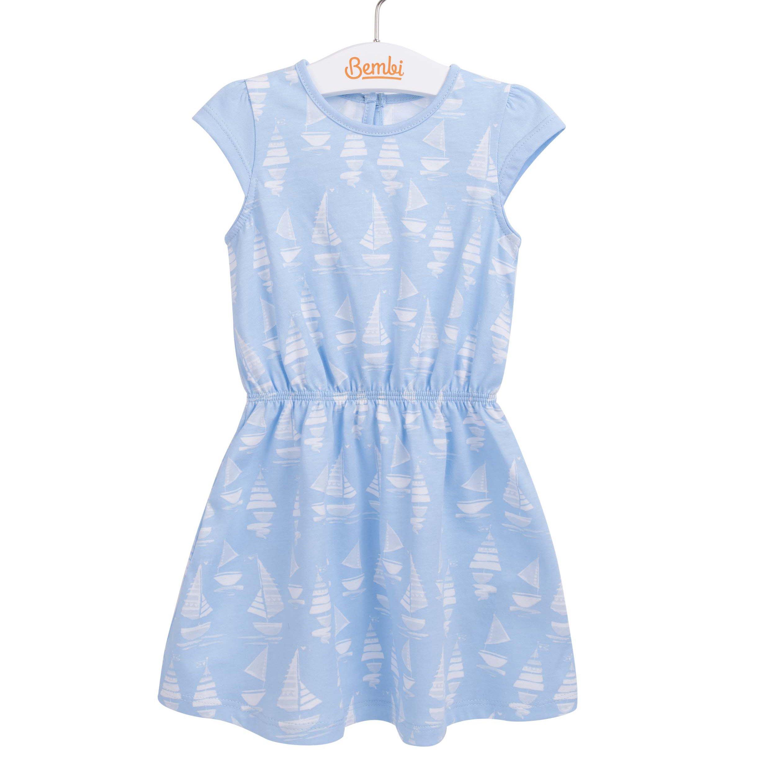 09b890dc78d180 Літнє плаття для дівчинки Метелики блакитне - платтячка до року ...