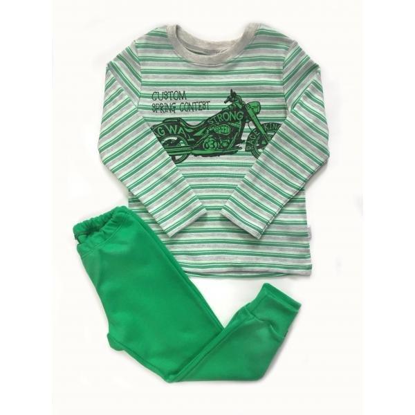 3a1a33f733ff3 Детский комплект для мальчика КП199 зеленый - интернет магазин ...